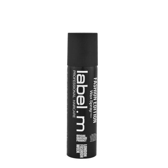 Label. M Wax Spray